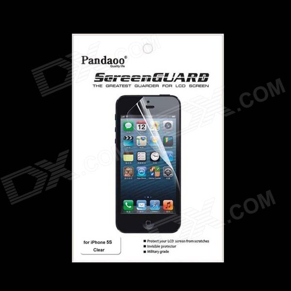 PANDAOO Clear Screen Protector for Iphone 5S - Transparent