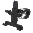 M08 360 Degree Rotation Scooter Bracket w/ C61 Back Clamp for Samsung i9200 / Ipad MINI - Black