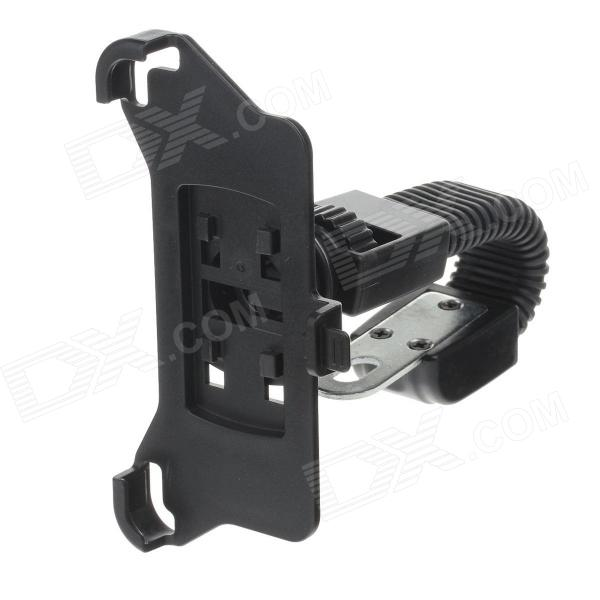 M08 360 Degree Rotation Scooter Bracket for Iphone 5 - Black