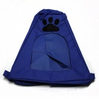 Folding Pet Dog Cat Outdoor Portable Nest Tent - Blue