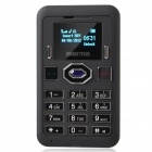 "Aierma M530 1.0"" Screen GSM Card Phone w/ Cover Quad-Band Bluetooth FM for Iphone 4 / 4S - Black"