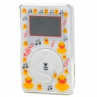 KD-MP3-11-DAIPING-BAISE MP3 Player w/ TF Slot / Mini USB - White + Silver