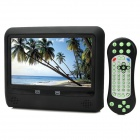 "Nanba NST-A901H 9"" Resistive Touch Screen Headrest DVD Player w/ Remote Controller - Black"