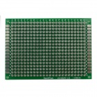 Jtron 03100392 Universal Double-Sided PCB Board - Green (5 x 7cm)