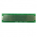 Jtron Universal Double-Sided PCB Board - Green (2 x 8cm)