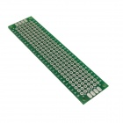 Jtron Universal Double-Sided PCB Board - Verde (2 x 8cm)