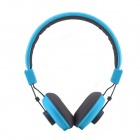 HAVIT HV-H328F Independent Dual Audio Interface Music Headphone - Blue + Grey