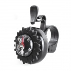 Compass Function Bicycle Mini Bells - Black