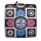 Ksd t1008  tv av three-color interface sports single dance pad - multicolor