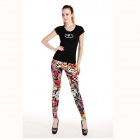 LC79283 Cartoon-Stil Fashion Girl Sexy Leggings - Bunte (freie Größe)