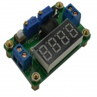 Jtron DC4.5~24V to DC 0.9~20V Constant Voltage and Current Buck w/ 4-Digit Red LED Display