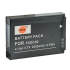 DSTE FXDC02 3.7V 2300mAh Li-ion Battery for Drift HD Ghost Camera