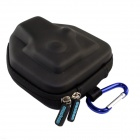 Protective EVA Camera Bag w/ Backpack Buckle for GoPro HD Hero 2 / 3 - Black