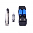 Vmax LED VM-AX Electronic Cigarette CEB E-Cigarette Atomizer Kit - Silver + Transparent
