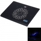"Shunzhan USB 2.0 Cooling Pad Big Fan Cooler for 14"" Notebook Laptop - Green + Black"