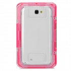 SX-N7100 Flip-Open Waterproof Dust-Proof PC + Silicone Case for Samsung Galaxy Note 2 / N7100