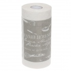 Novelty Food And English Pattern Toilet Paper 2-Layer Roll Tissue - White + Gray