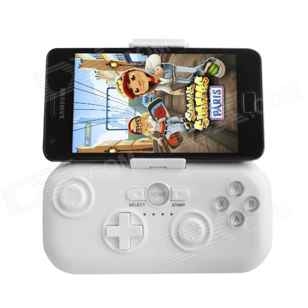 KSD KSD-818 Android Bluetooth Gamepad for Android 2.3 and Above Smartphone / Tablet PC - White gp 1006 wireless bluetooth v4 0 gamepad controller for ios android phone camouflage