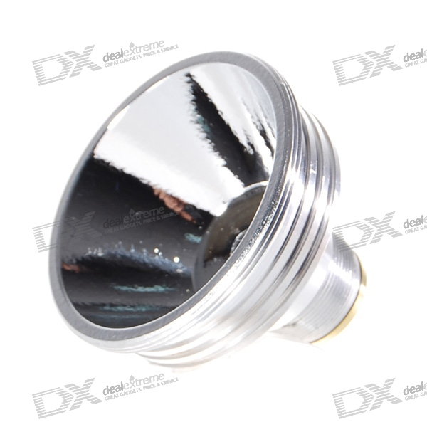 52mm*38mm Aluminum Textured/OP Reflector for Cree LED Emitters