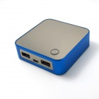 IGROW IGR-1819 7800mAh Polymer Battery Charger Mobile Power Bank for iPhone 4 / 4S + More - Blue