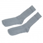 Modische Herren Outdoor Sports Baumwollsocken - Grau (Paar)