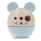 M&G APS90645 Cute Cartoon Style Hand-Crank Desktop Pencil Sharpener - Beige + Blue