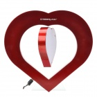 CHEERLINK Heart Shape Magnetic Levitation Rotating Photo Frame with LED - Red - Gifts Hobbies and Toys