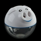 Design Farmer KD002 Cute Pig USB Humidifier w/ Touch Type Inclined Gush Function - White