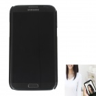 CAM-CASE Protective Plastic Back Case w/ Special Photography for Samsung Galaxy Note 2 N7100 - Black