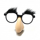 Funny Elder's Glasses w/ Nose / Brow - Beige +Black