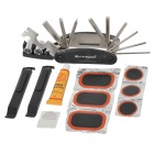 SAHOO Handy Tyre Repair Tool Kit Set for Bicycle - Black
