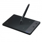 Huion H420 Pad Firma USB con Captura Digital Wireless Pen - Negro