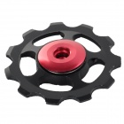 BB-01 Aluminum Alloy Rear Derailleur Pulley - Black + Red