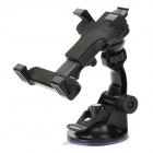 H01 180 Degree Rotation Holder Mount w/ Suction Cup for Samsung i9200 / iPad Mini - Black
