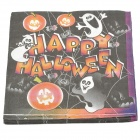 Happy Halloween 2-Layer Paper Towel Tissue - Black + White + Yellow (20-piece)