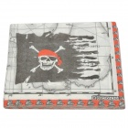 Skull Pattern 2-Layer Tissue Paper Towel - Red + Black +White (20-piece)