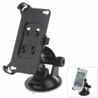 180 Degree Rotation Holder Mount w/ H01 Suction Cup for Iphone 4 / 4S - Black