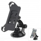 180 Degree Rotation Holder Mount with H01 Suction Cup for Iphone 5 - Black - Car GPS Car Accessories