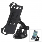 180 Degree Rotation Holder Mount with H01 Suction Cup for Samsung i9300 - Black - Car GPS Car Accessories