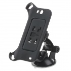 180 Degree Rotation Holder Mount with H01 Suction Cup for Samsung N7100 - Black - Car GPS Car Accessories
