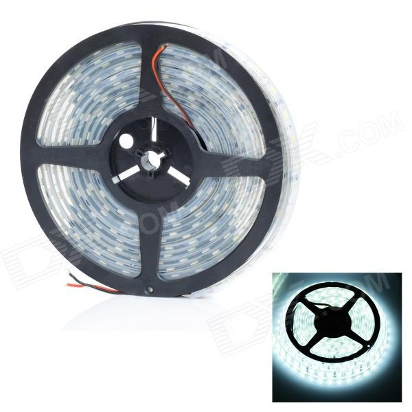 HML IP68 Waterproof 72W 6000lm 300-SMD 5050 LED White Light Car Decoration Lamp Strip- White (5m) цена