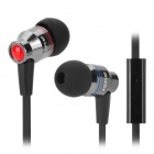 AWEi TE 800i In-Ear Earphone w/ Microphone for Samsung Note 2 / S3 / S4 - Black