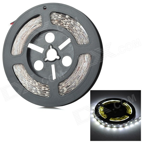 40W Bluish White 10000K 13000lm Car Light LED Strip  (12V / 5M)5630 SMD Strips<br>MaterialFPCForm  ColorWhiteQuantity1 DX.PCM.Model.AttributeModel.UnitPowerOthers,40WRated VoltageOthers,12 DX.PCM.Model.AttributeModel.UnitChip BrandEpistarEmitter Type5630 SMD LEDTotal Emitters300Color BINBluish WhiteColor Temperature10000KWavelengthN//AActual Lumens13000 DX.PCM.Model.AttributeModel.UnitPower AdapterOthers,N/ACertificationCEOther FeaturesSuper High brightnessPacking List1 x Light strip<br>