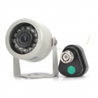 "1/4 ""CMOS 420TVL CCTV камеры ж / 12-LED IR Night Vision - Silver (DC 12V / PAL)"