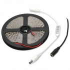 Car decorativo 48W 1600lm 600-SMD 3528 LED caliente tira de luz blanca (12V / 5m)
