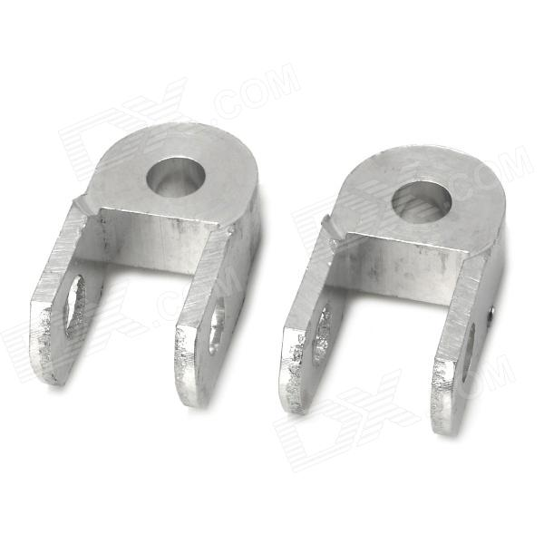 Motorcycle Vibration Damping Heightening Device - Silver (2 PCS)