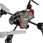 UDI 2.4GHz 4-Channel Remote Control R/C UFO Aircraft Helicopter - Black + Silver + Red
