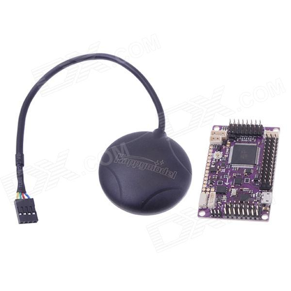 APM 2.5.2 APM Flight Controller Board with GPS For Multi-rotor Fixed-wing Copter - Purple + Black mei wan and cherry universal hood board computer board control panel compatible with all brands of range hoods all