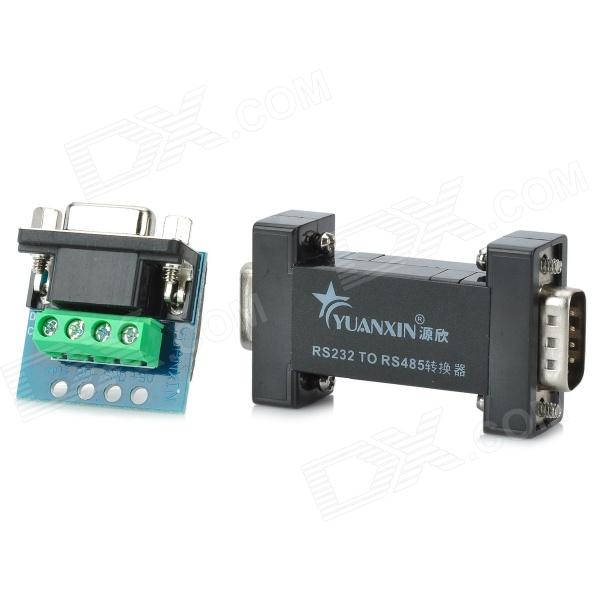 YUANXIN YXB-06 6-Bit RS232 to RS422 Communication Protocol Converter rs232 to rs485 interface communication connector serial port converter driver grey green