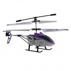A15 3.5-CH IR Remote Control Helicopter - White + Purple